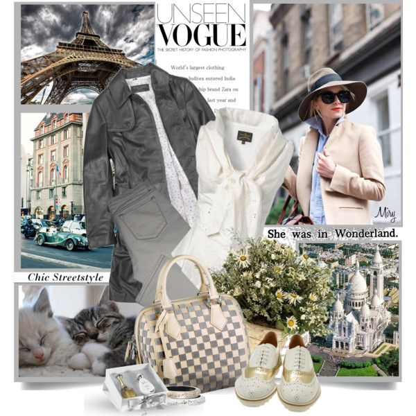 """""""Chic Streetstyle"""" by thewondersoffashion on Polyvore"""