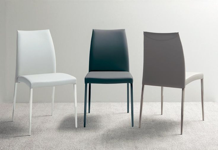 NEXUS ES62. Nexus stacks out for ergonomics and the comfort of its seat. Metal frame chair with soft eco-leather covering, leather colour stiching. http://www.easy-line.it