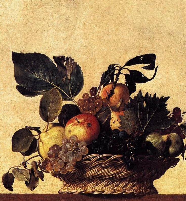 Caravaggio  Basket of Fruit  1597 renaissance