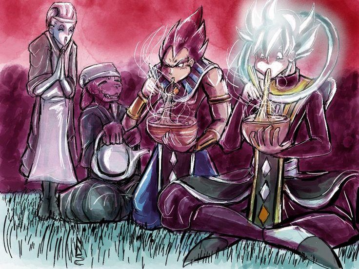 title- Ultra Instinct Ramen eating :D #身み勝がっ手ての極ごく意い  #UltraInstinctMastery  #UltraInstinctWhite #Goku #Vegeta #Beerus #Whis #DestructionGod #Angel #DragonballSuper #Episode129 #Episode130