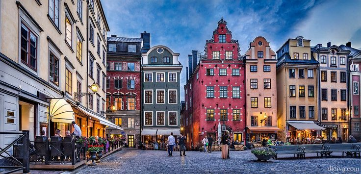 Stortorget, Gamla Stan (Stockholm, Sweden) by Domingo Leiva on 500px