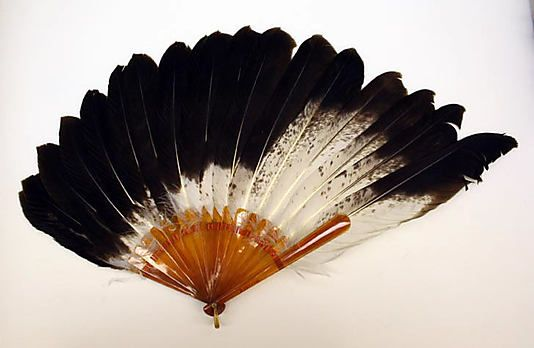 Feather Fan - American Or European   c. Early 20th Century  -  The Metropolitan Museum Of Art
