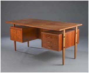 Skrivebord & sekretær/chatol