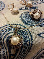 Perles et argent