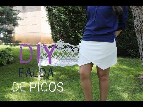 DIY Ropa cómo hacer la falda de picos que está arrasando :D