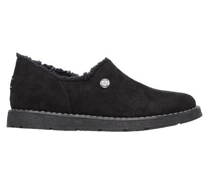 Skechers Women's Bobs Alpine Black Diamond Slipper Accessories (Black)