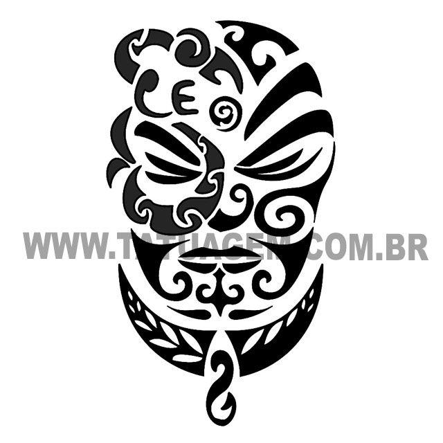 """Tatuagem Maori  ·  Maori – Força, Determinação e Glória O Hei Matau com a junção de uma """"Mango Pare"""", junto com a família e amigos, (..."""