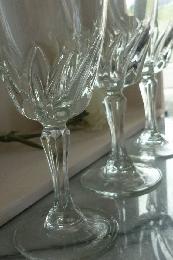 These wonderful vintage crystal Flamenco wine glasses would be a great wedding gift for the happy couple, not only to toast their nuptials but for dinner parties and get together socials that they might have as one ought to have some good glasses.  The glasses are elegant and