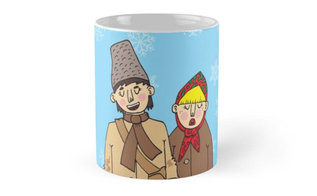 """""""Traditional carolers"""" Mugs by Adrian Serghie   Redbubble"""