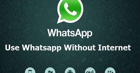 Use Whatsapp Without Internet