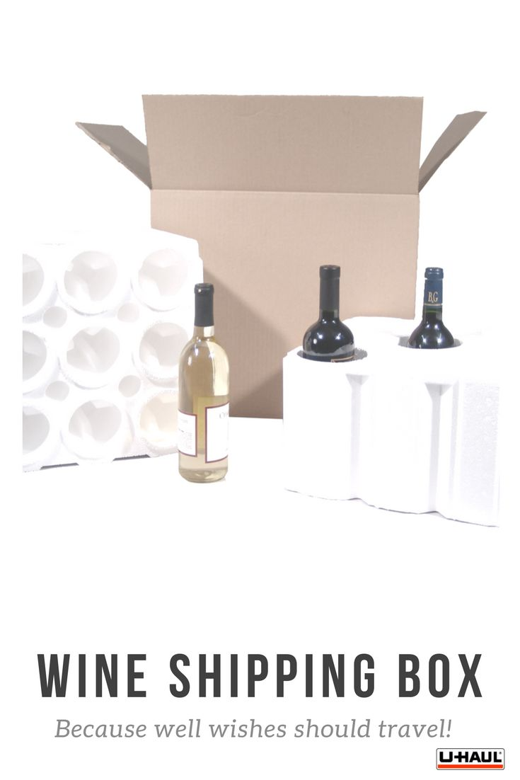 Trying to send a pat on the back or a celebratory bottle of champagne?  With this box the wine can show up even when you can't.  Safely ship wine or champagne bottles with our Wine Shipping Kits. All kits come with a protective styrofoam base to hold the bottles, a styrofoam lid to protect the bottle tops and a shipping box. Buy yours here I Storage Ideas