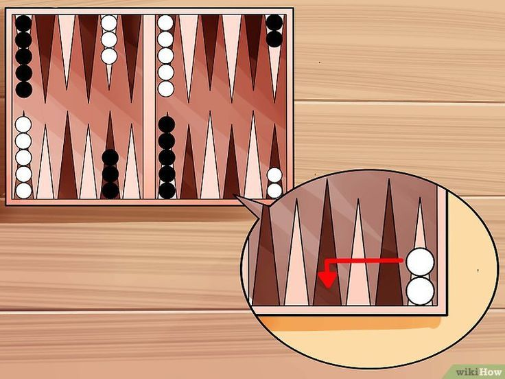 Backgammon Rules Panosundaki Pin
