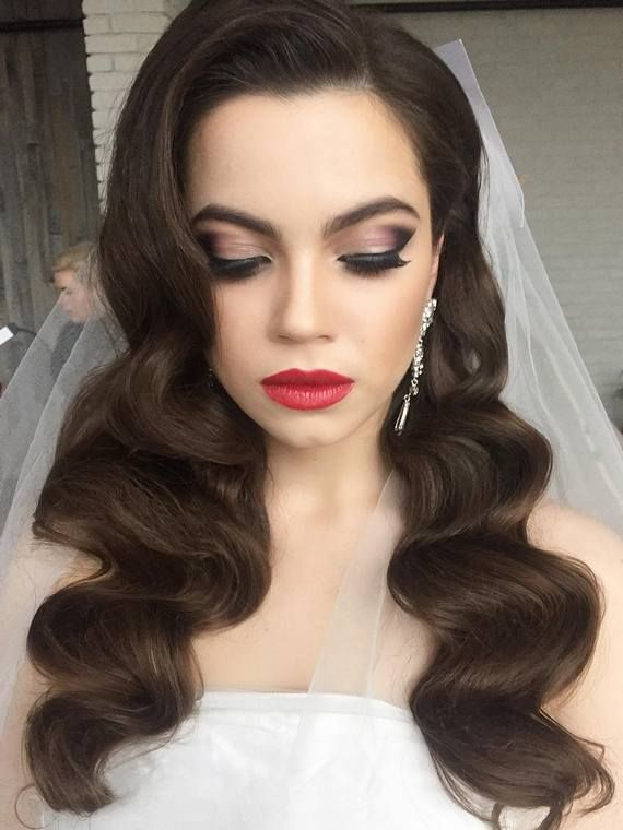 Gallery: Long Wedding Hairstyles And Wedding Updos From Websalon Weddings    Deer Pearl Flowers /