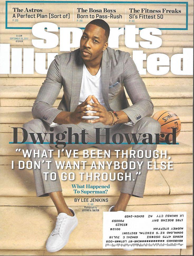Sports llustrated Magazine Dwight Howard Basketball September 25 2017 Astros   #doesnotapply