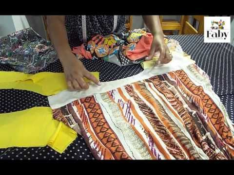 Vestido de Manga Japonesa - Faby Corte e Costura - YouTube