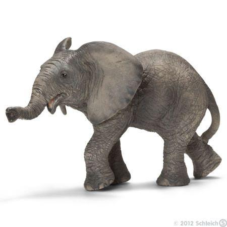 Afrikansk elefant, baby 14658