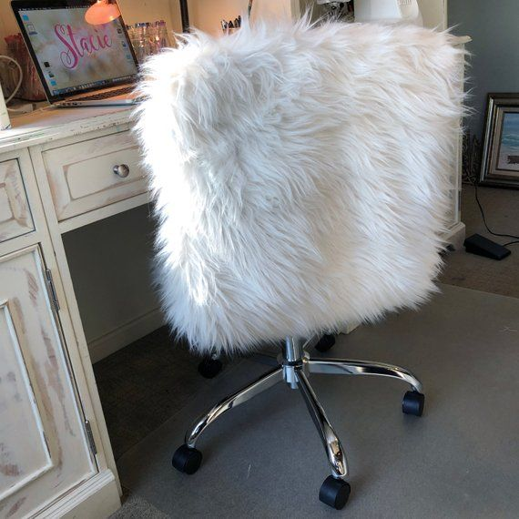 Faux Fur Chair Cover Slipcover Faux Fur Cover Fur Etsy Chair Covers Slipcover Slipcovers Fur Chair