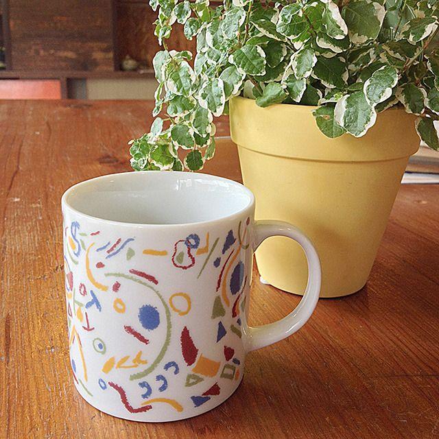 コーヒー1杯にぴったりサイズな、KODOMONOUTA専用デザインのティスティーカップです。