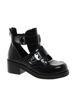 Image 1 of ALDO Tatrie Cut Out Ankle Boots