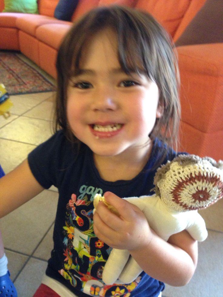 Giulia Fujko ha 5 anni