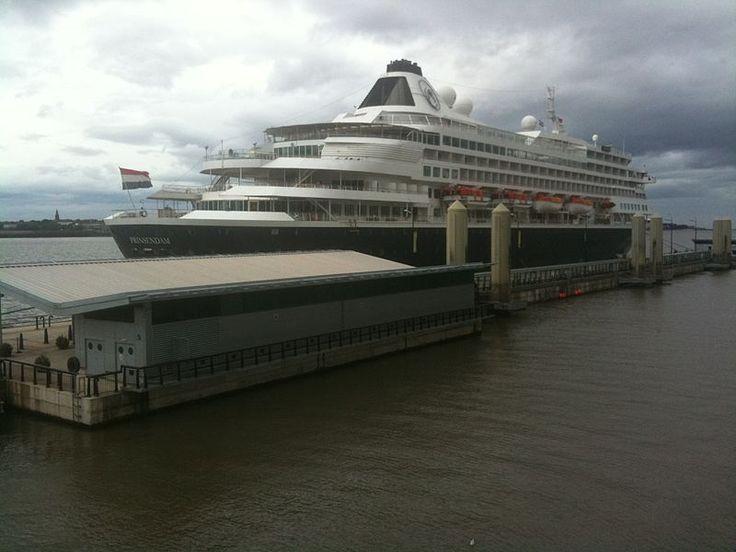 MS Prinsendam in Liverpool
