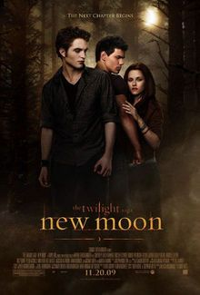 The Twilight Saga: New Moon, commonly referred to as New Moon, is a 2009 American romantic vampire film