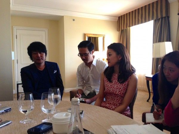 FRIGHT EXCLUSIVE INTERVIEW WITH SNOWPIERCER'S SONG KANG-HO AND KO AH-SUNG!!