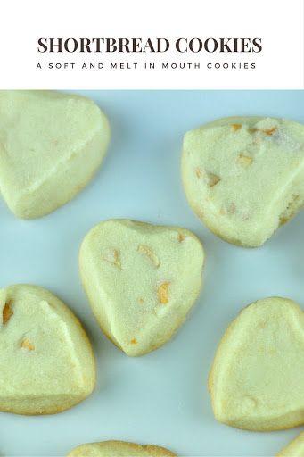 Cashew nut shortbread cookies.