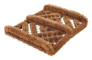 "Dennis, W J & Co. CORBU1214 Brush Coco Mat With Metal Wire 12"" x 14"" by WJ DENNIS. $10.99. Wj Dennis 12In X 14In Metal Wire Brush Coco Mat (Corbu1214). 12"" x 14"""" Coco fibers brush shoes and boots clean Shake or hose off to clean Will not rot, mold or rust"
