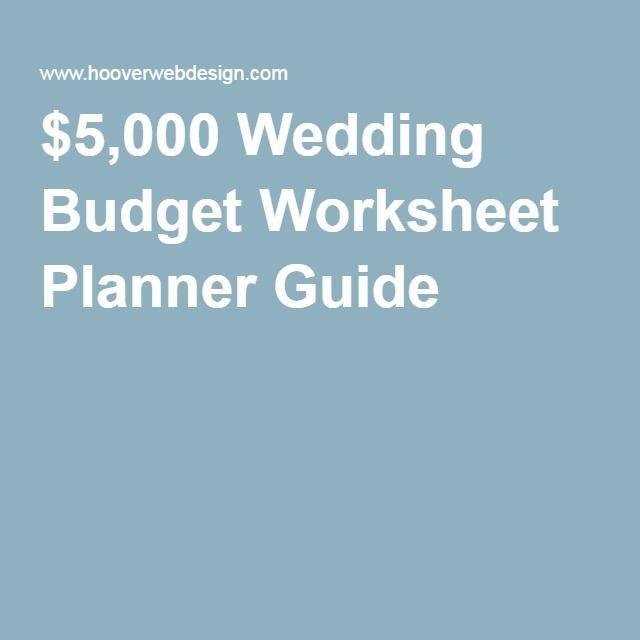 Best  Wedding Budget Worksheet Ideas On   Wedding