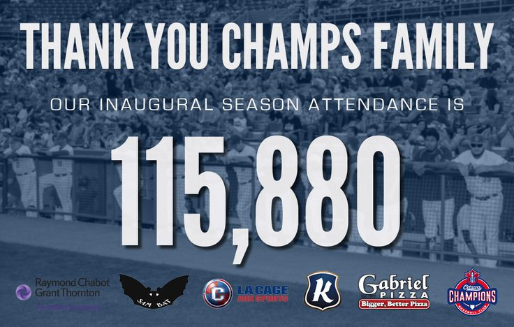 Thanking our fans after a tremendous inaugural season in 2015