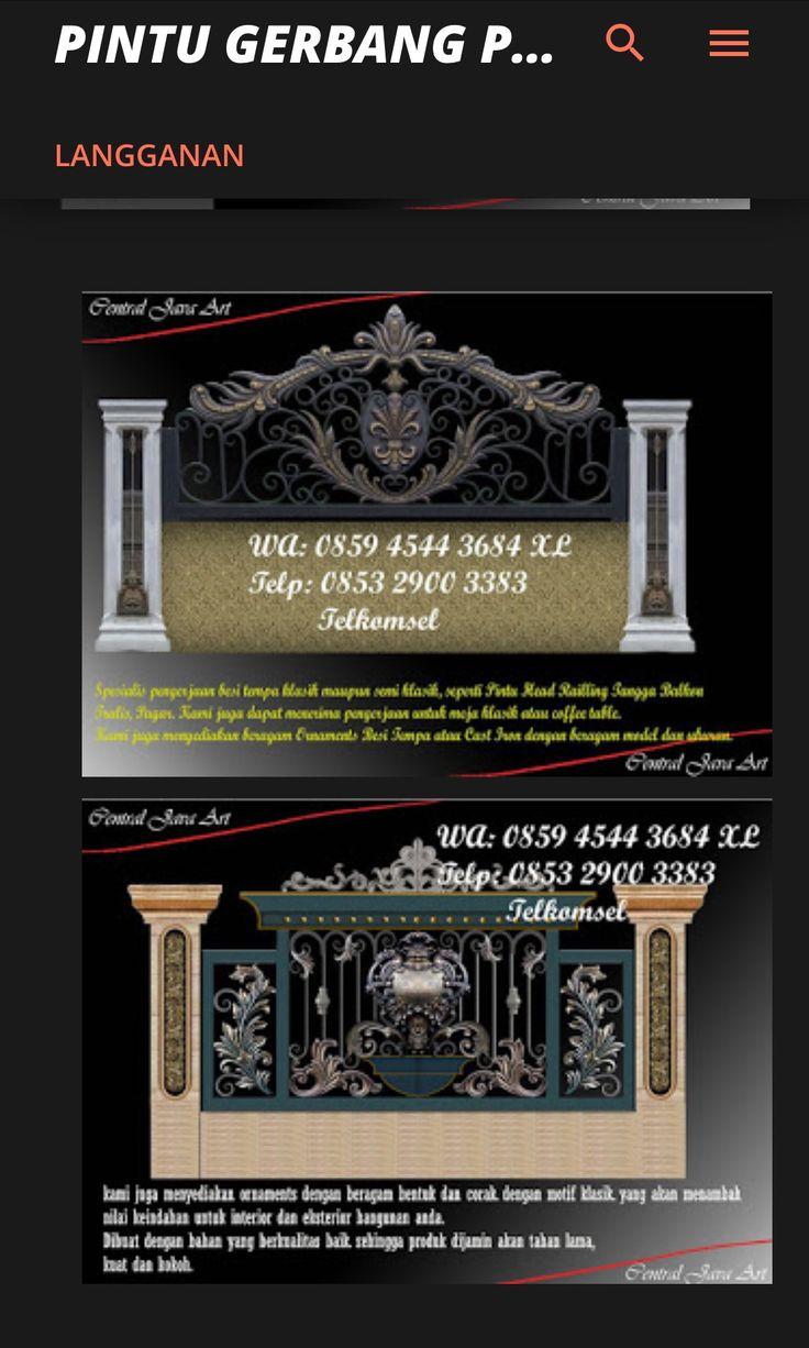 Real CENTRAL JAVA ART WA. 085945443684 XL / 085329003383 Telkomsel Jual ornamen besi tempa juga perakitan dan pemasangan. https://gratis468.wordpress.com/2017/02/20/pagarbesitempaklasik-cja/