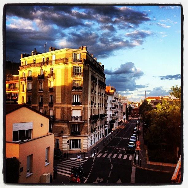 """@Benoit Degiovani's photo: """"Lumière du soir #boulogne"""""""
