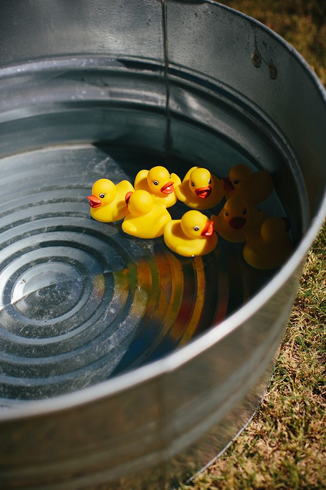 Adorable Vintage County Fair Birthday Party Inspiration and Photos! Got to have rubber ducks!