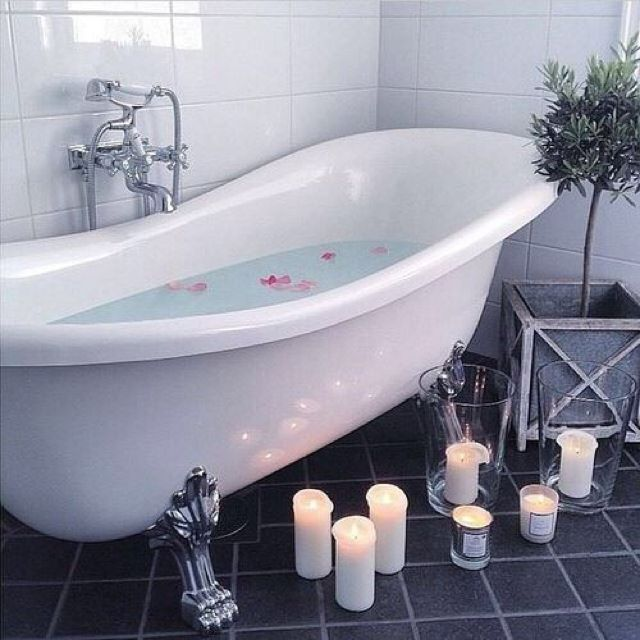 nzmnnzmmさんの、バス/トイレ,観葉植物,キャンドル,お風呂,バスルーム,北欧,のお部屋写真