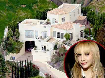 Brittany Murphy Mansion she had purchased for $4 Million Dollars in 2003. After her death her mother Sharon Murphy put the home up for sale for $7.25 Million Dollars