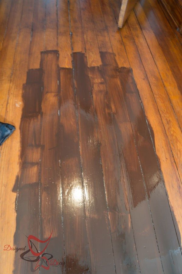 Gel-Stain-Over-Existing-Stained-Wood-Applying Gel Stain                                                                                                                                                      More