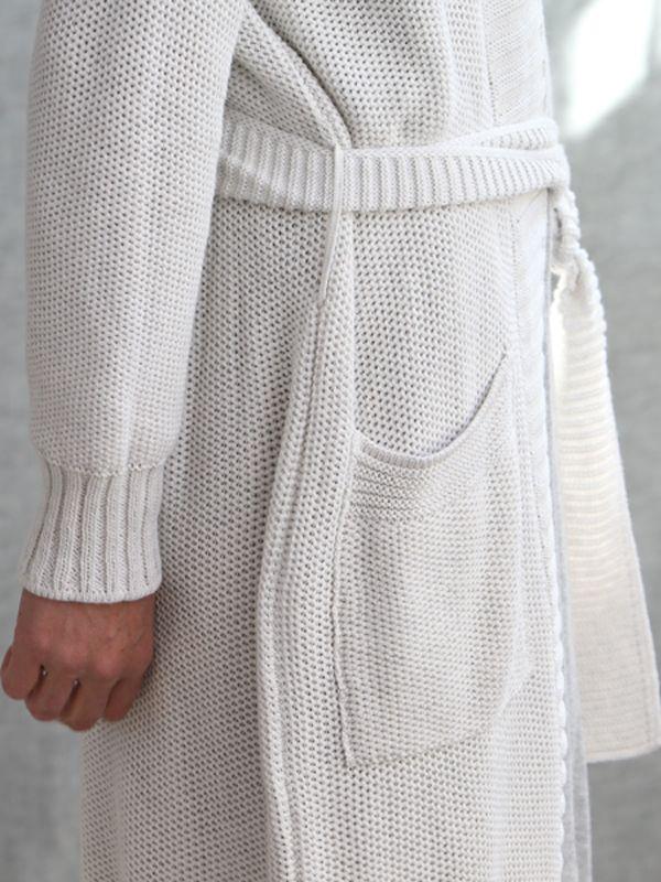 cotton knit ~ piqué gown ~ luna lounge melbourne
