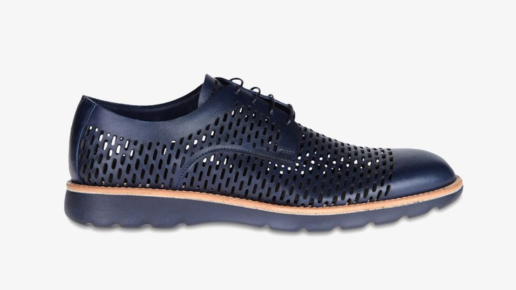 Amazing perforated laced shoes by Z Zegna #fashion #menswear #style #shoes #zzegna #zegna #perforated