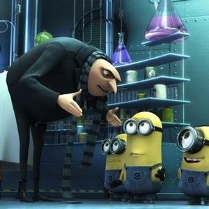 Despicable Me (2010). I FINALLY saw this June 2016, and I was not disappointed! Ever since it came out, friends of all ages have recommended it to me. I always watch the closing credits of films, and I saw that Julie Andrews performed the mother's voice!