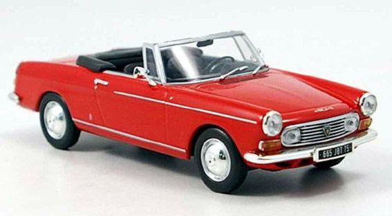 Peugeot 404 Cabriolet red 1962 Minichamps