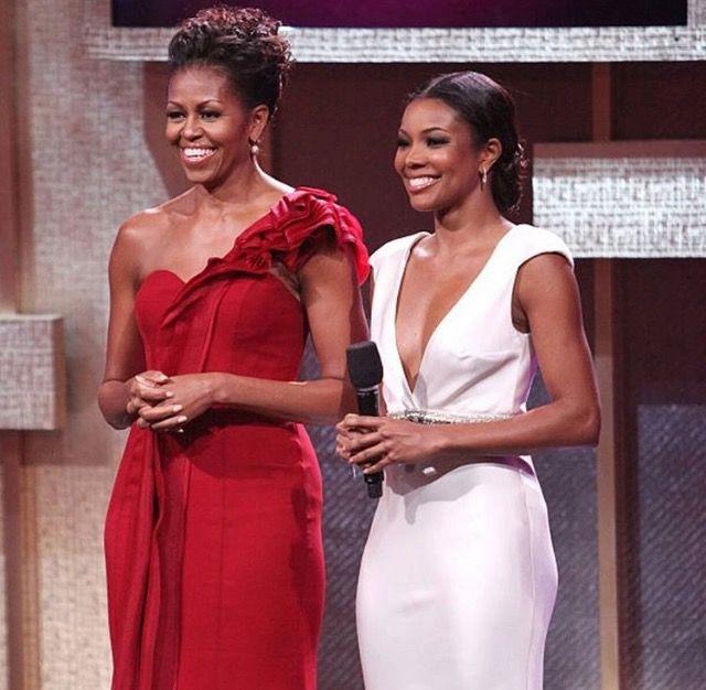 Michelle Obama & Gabrielle Union