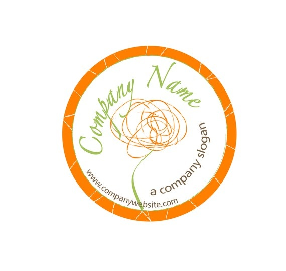 "Premade Poppy Logo by GCFreelanceDesign on Etsy  - a very talented artist!! She makes great logos and offers amazing deals on creating custom graphics.. Can't wait to have my logo finished! Orange and Olive Upholstery, "" Vintage Chic with a Twist"""
