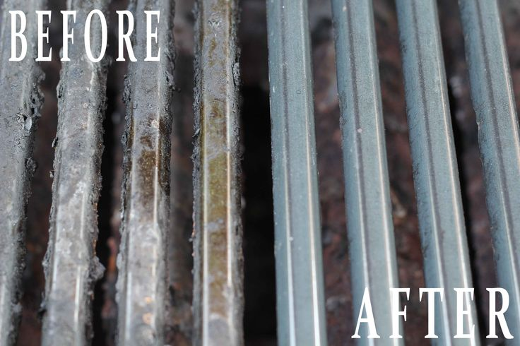 Magic Way to clean your grill without scrubbing. Simple, easy, effective cleaning method to get your grill grate clean and looking like new!