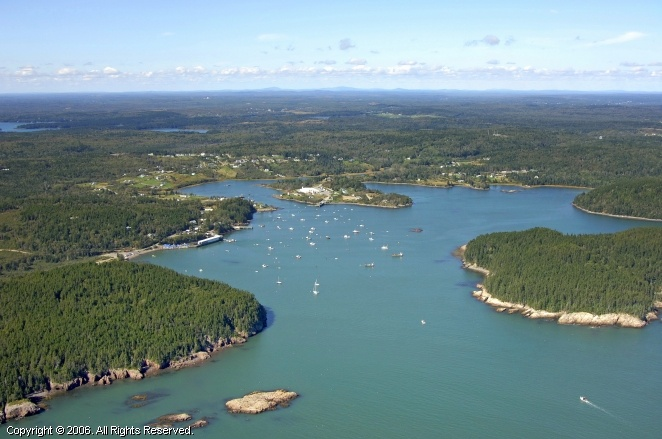 Buck's Harbor, Maine.  South Brooksville.  Still workin on it, but this is where you will find us in the summers someday soon.