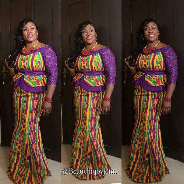 Gorgeous #Kéntè #Africanprint #lace #beautiful #stylish #fashionista #African #beautiful #makeup #colourful #Beads #accessory #Hair #pose