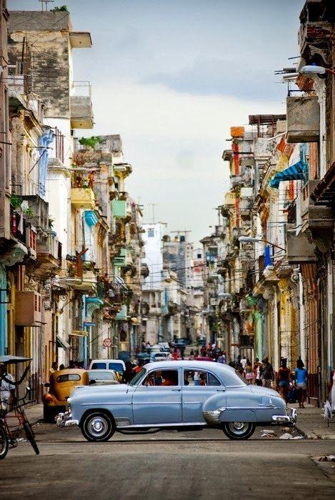 Cuba. The inspiration behind Proenza Schouler's resort '16 collection.