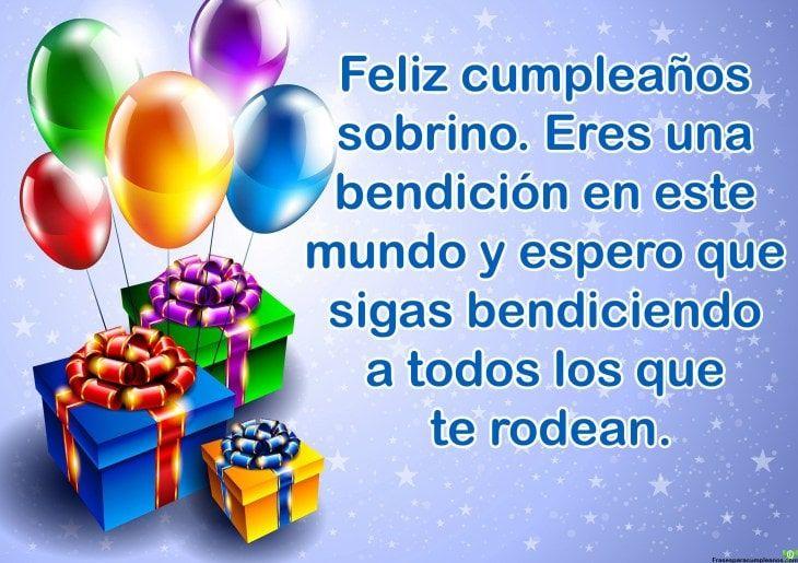 Feliz Cumpleaños Sobrino Querido Feliz Cumpleaños Sobrino