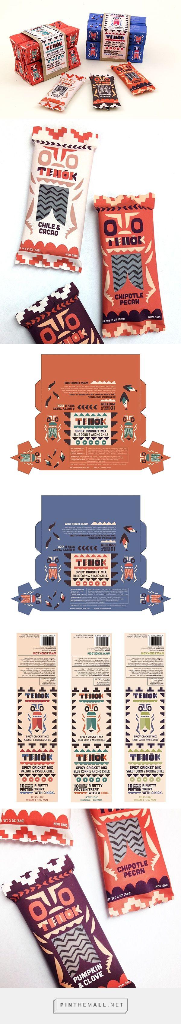 Tenok Cricket Snacks packaging PD