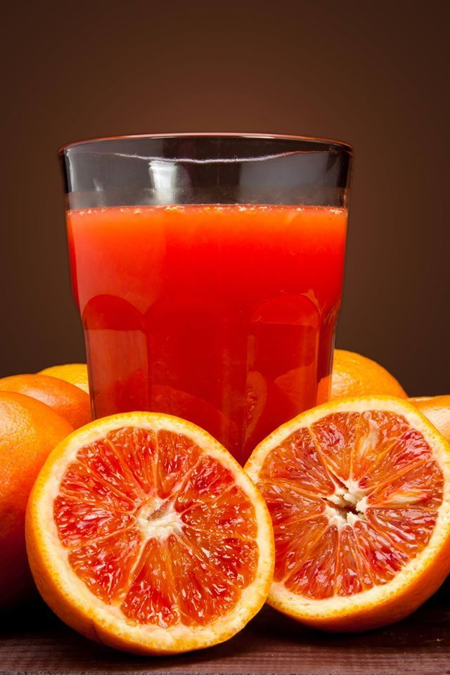 Spremuta d'arancia siciliana